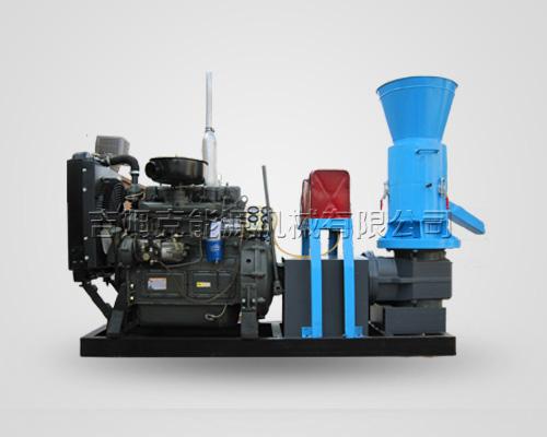 动辊木屑颗粒机柴油机型